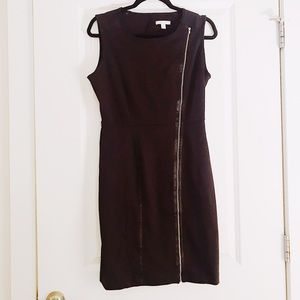 New York and Company LBD with zip